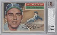 Gil Hodges (Gray Back) [BVG 5.5 EXCELLENT+]