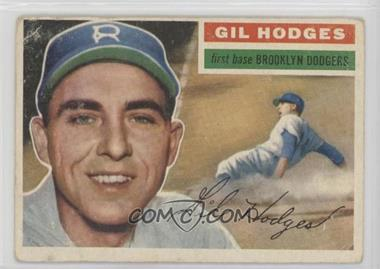 1956 Topps - [Base] #145.1 - Gil Hodges (Gray Back) [Good to VG‑EX]