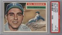 Gil Hodges (Gray Back) [PSA 4 VG‑EX]