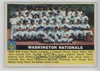 Washington Nationals Team (White Back)