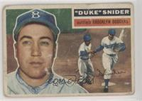 Duke Snider (Gray Back) [Poor to Fair]