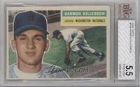 Harmon Killebrew (Gray Back) [BVG 5.5 EXCELLENT+]