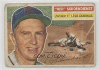 Red Schoendienst (Gray Back) [Poor]