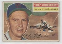 Red Schoendienst (White Back) [Poor to Fair]