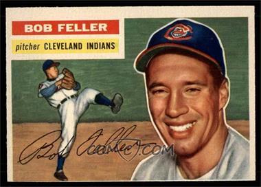 1956 Topps - [Base] #200 - Bob Feller [VG] - Courtesy of COMC.com