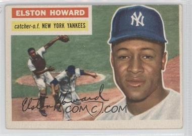 1956 Topps - [Base] #208 - Elston Howard [Good to VG‑EX]