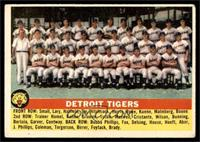 Detroit Tigers Team [VG EX]