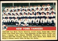 New York Yankees Team [EX]