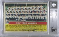 New York Yankees Team [BASCertifiedBGSEncased]