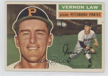 1956 Topps - [Base] #252 - Vern Law