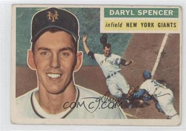 1956 Topps - [Base] #277 - Daryl Spencer [Good to VG‑EX]