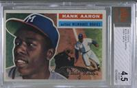 Hank Aaron (Gray Back) [BVG 4.5 VG‑EX+]
