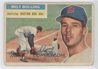 Milt Bolling [GoodtoVG‑EX]