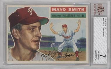 1956 Topps - [Base] #60.1 - Mayo Smith (Gray Back) [BVG7NEARMINT]