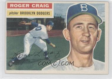 1956 Topps - [Base] #63.2 - Roger Craig (White Back)