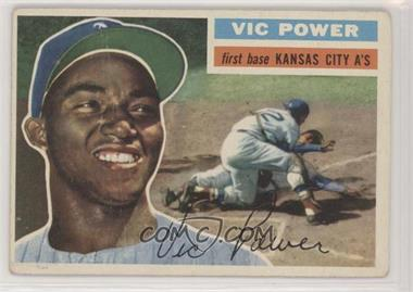 1956 Topps - [Base] #67.1 - Vic Power (Gray Back) [Poor to Fair]