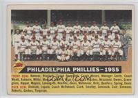 Philadelphia Phillies Team (White Back, Team Name and Date) [Poorto…