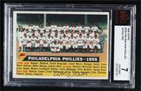 Philadelphia Phillies Team (White Back, Team Name and Date) [BVG7NE…