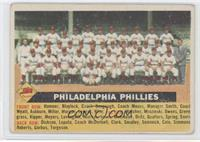 Philadelphia Phillies Team (White Back, Team Name Centered) [Good to …