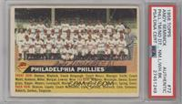 Philadelphia Phillies Team (White Back, Team Name Left) [PSA/DNA Certified…