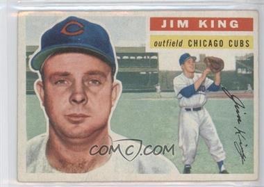 1956 Topps - [Base] #74.1 - Jim King (Gray Back)