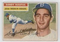 Sandy Koufax (Gray Back) [Poor to Fair]