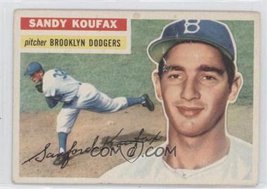 1956 Topps - [Base] #79.1 - Sandy Koufax (Gray Back)