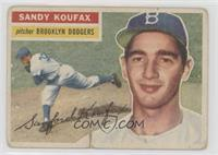 Sandy Koufax (White Back) [Poor]