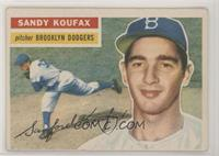 Sandy Koufax (White Back) [Good to VG‑EX]