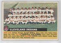 Cleveland Indians Team (Grey back, team name left)