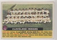Cleveland Indians Team (White Back, Team Name Centered)