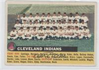 Cleveland Indians Team (White Back, Team Name Left)