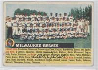Milwaukee Braves Team (Gray Back, Team Name Left) [GoodtoVG‑E…