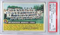Milwaukee Braves Team (White Back, Team Name and Year) [PSA 4]