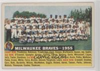 Milwaukee Braves Team (White Back, Team Name and Year)