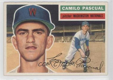 1956 Topps - [Base] #98.1 - Camilo Pascual (Gray Back)