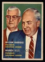 William Harridge, Warren Giles [EX]