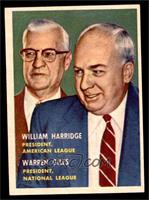 William Harridge, Warren Giles [EX MT]