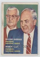 William Harridge, Warren Giles