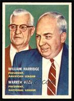 William Harridge, Warren Giles [EXMT]