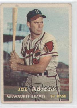 1957 Topps - [Base] #117 - Joe Adcock