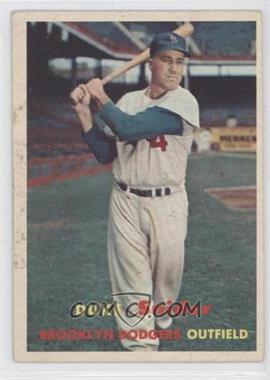 1957 Topps - [Base] #170 - Duke Snider [GoodtoVG‑EX]