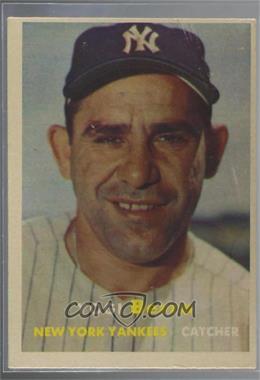 1957 Topps - [Base] #2 - Yogi Berra [PoortoFair]