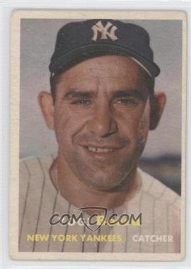 1957 Topps - [Base] #2 - Yogi Berra [GoodtoVG‑EX]