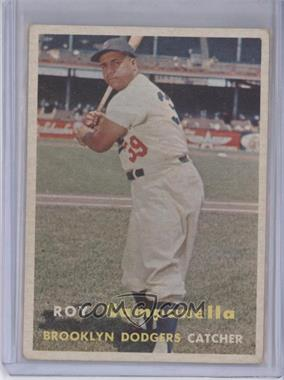 1957 Topps - [Base] #210 - Roy Campanella [Good to VG‑EX]