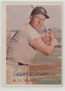 1957 Topps - [Base] #215 - Enos Slaughter