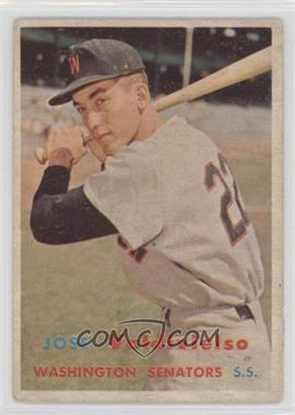 1957 Topps - [Base] #246 - Jose Valdivielso [Good to VG‑EX]
