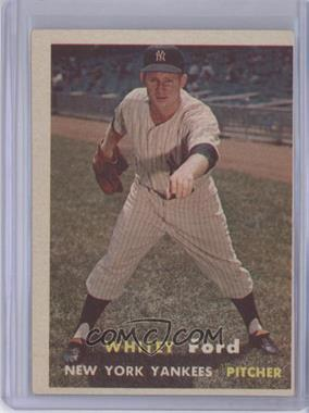 1957 Topps - [Base] #25 - Whitey Ford