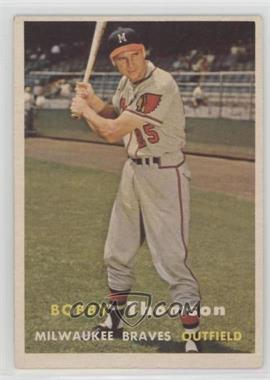 1957 Topps - [Base] #262 - Bobby Thomson