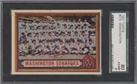 Scarce Series - Washington Senators Team [SGC80EX/NM6]